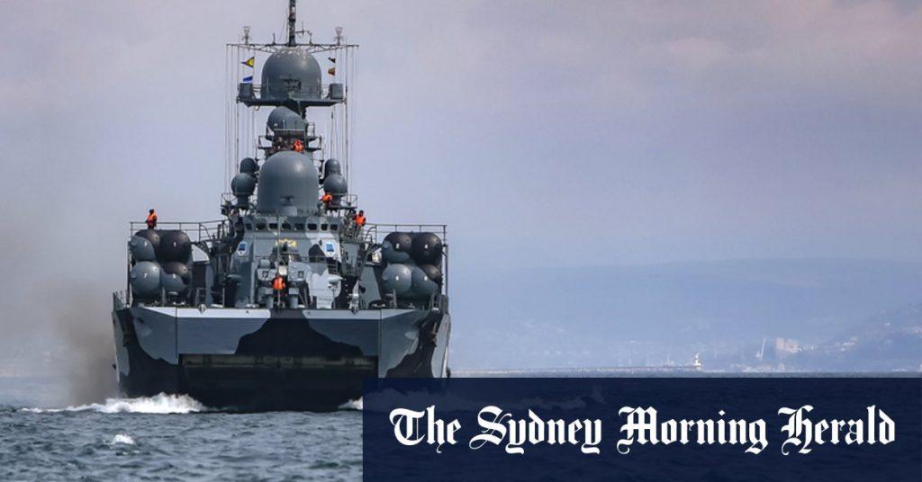 Россия защищает препятствие иностранному флоту на фоне наращивания военной мощи возле Украины