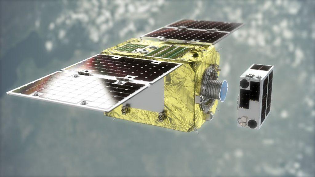 Спутник Tiny Astroscale протестирует технологию очистки космоса с помощью магнитов