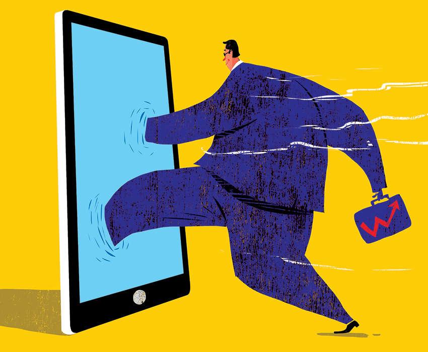 Быстро развивающаяся цифровая революция предлагает новый путь роста для Индии и других развивающихся стран.