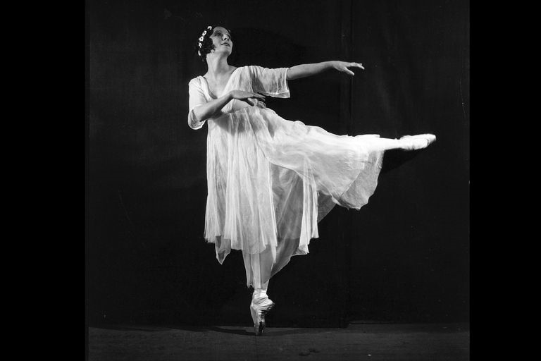Anna Pavlova, artist of the Imperial Russian Ballet and the Ballets Russes.