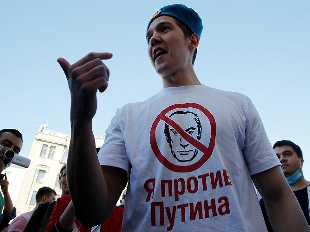 russia protest, putin, governor Sergei Furgal