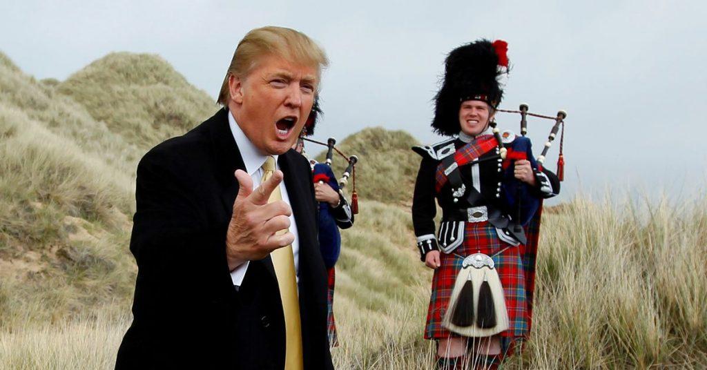Эксклюзив: иск о расследовании покупки Трампом поля для гольфа в Шотландии
