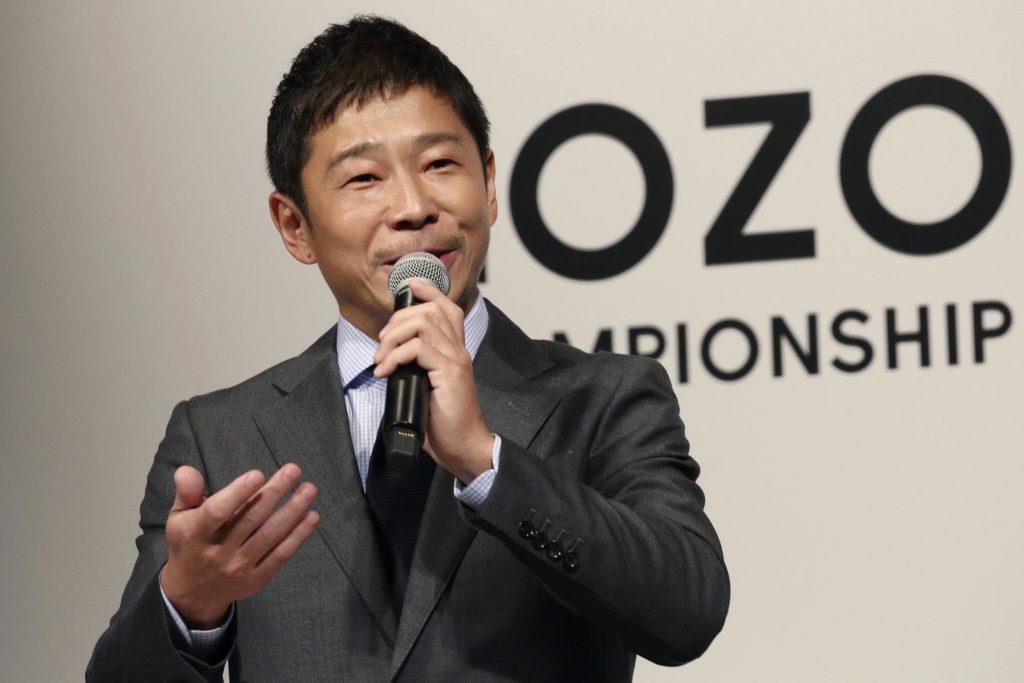 Японский магнат планирует посетить космическую станцию, а затем отправиться в путешествие на Луну