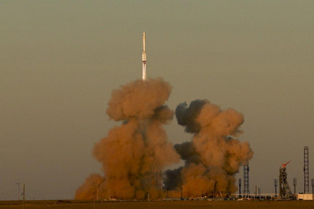 Россия запускает лабораторную установку для Международной космической станции
