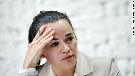 Лидер белорусской оппозиции заявила, что передала администрации Байдена санкционный список قائمة