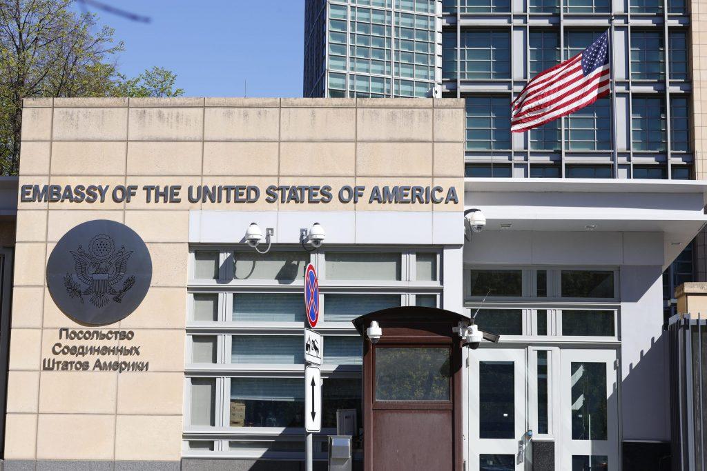 """США подали заявку на """"свидания"""" для российских сотрудников посольства в Москве"""