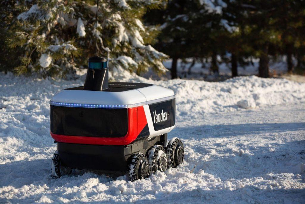 Яндекс и GrubHub запускают роботов для доставки еды в 250 кампусах США