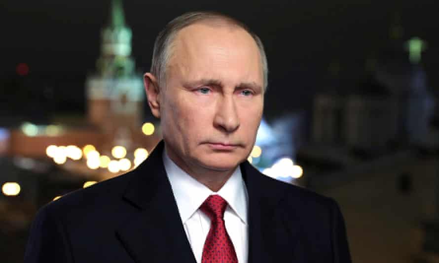 Владимир Путин в 2016 году.