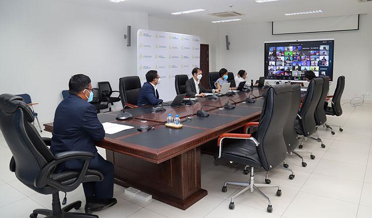 Виртуальная встреча для более тесных торговых отношений между Камбоджей и Россией