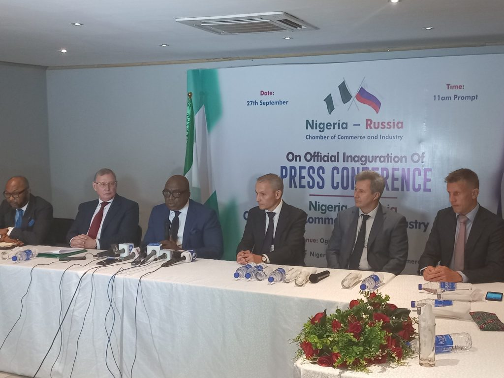 Nigeria-Russia chamber of commerce launched as trade between both countries hit $600m